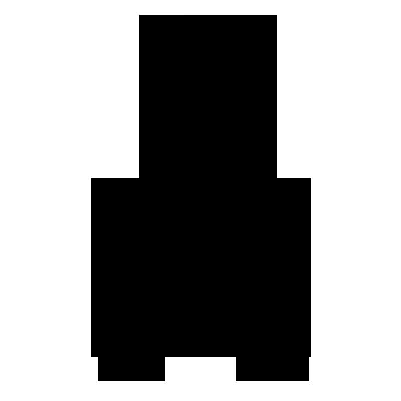 ハサミのシルエットのイラスト