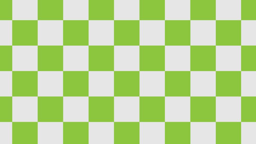 緑の市松模様