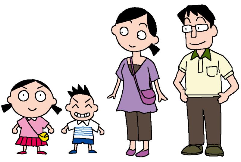 みる子の家族のイラスト(旧)