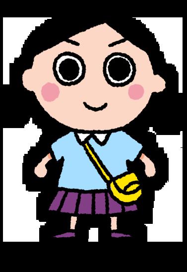 みる子のイラスト
