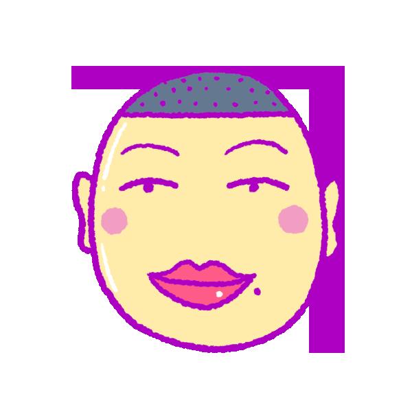 セクシーな唇の人のイラスト フリーアイコン